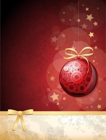Christmas background, vector Vector
