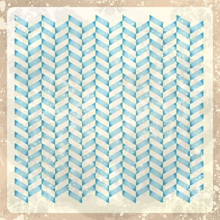 Abstract retro background, vector Vector
