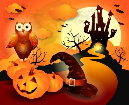 Halloween en naranja