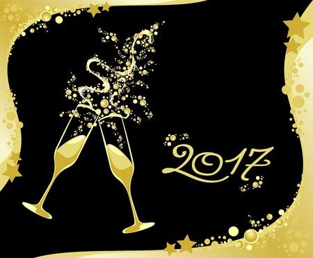 Wir feiern das neue Jahr.