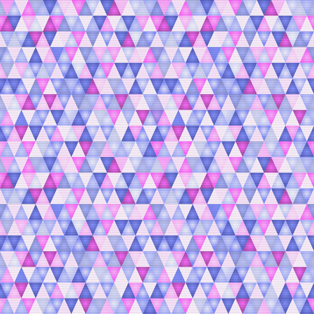 Abstract pattern with triangles in ultraviolet, vector illustration eps10 Illustration