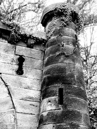slits: Rapunzels Tower Stock Photo