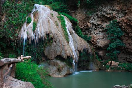 namtok: Kor luang Waterfull in Mae Ping National Park,Li,Lamphun,Thailand.