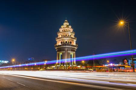 Independence Monument,Phnom penh,Cambodia.