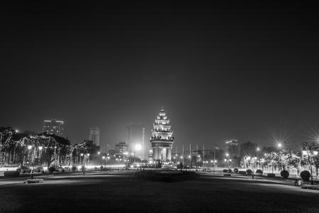 phnom penh: Independence Monument,Phnom penh,Cambodia.