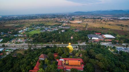 Lamphun,Thailand, 20 December 2016 : Evening super highway of Lamphun, Doi Ti,Lamphun North on Thailand.