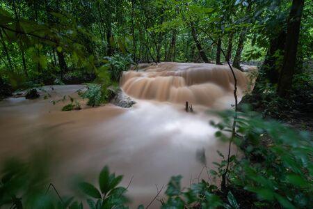 HuayRong waterfall  north in thailand,Phrae,Thailand.