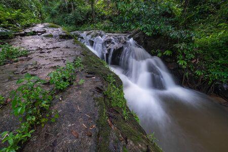 Mae wong  waterfalls  north in thailand,Chiangmai,Thailand.