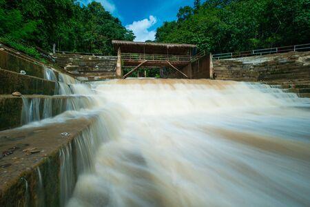 Wangsilalang  waterfalls  north in thailand,Nan,Thailand.