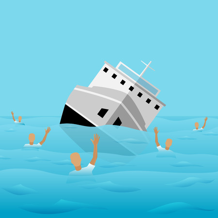 Ship-Wreck Icon