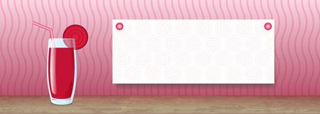 remolacha: Banner jugo. Remolacha