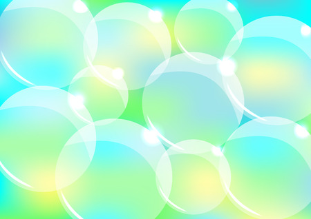 bubble background: Abstract bubble background