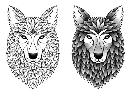 tatoo: wolfs