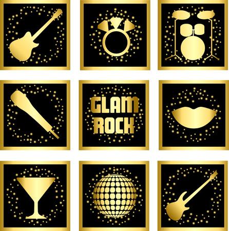 glam rock: Glam Rock Set