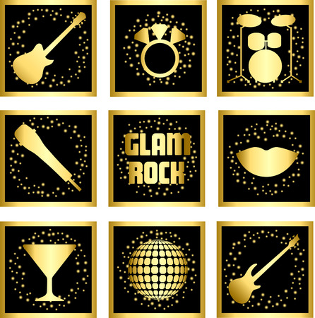 Glam Rock Set