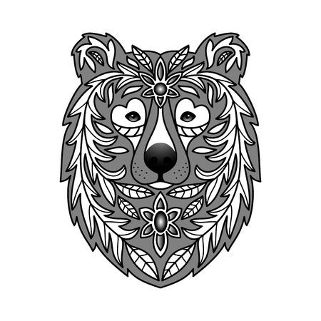 powerful: Ornamental Bear