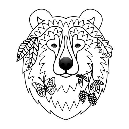 zoo: bear tattoo