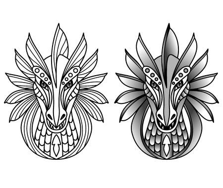 chinese new year dragon: dragons Illustration