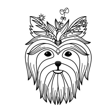 yorkshire: Yorkshire terrier tattoo