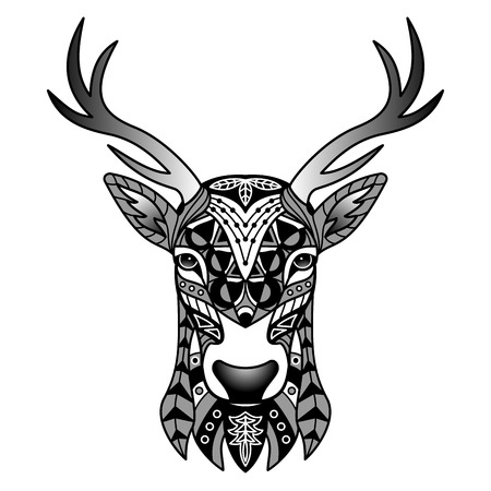 black deer: Fantasy Black Deer