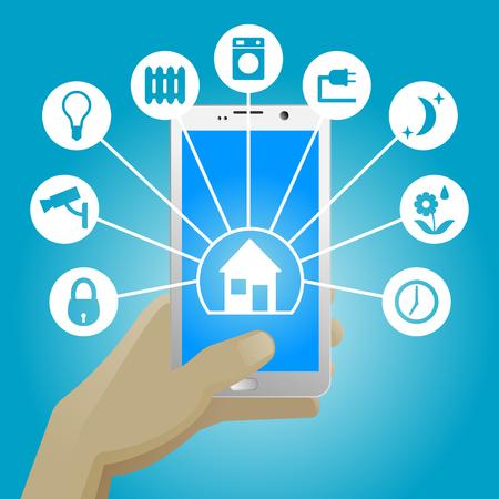 smart: Smart Home in smartphone