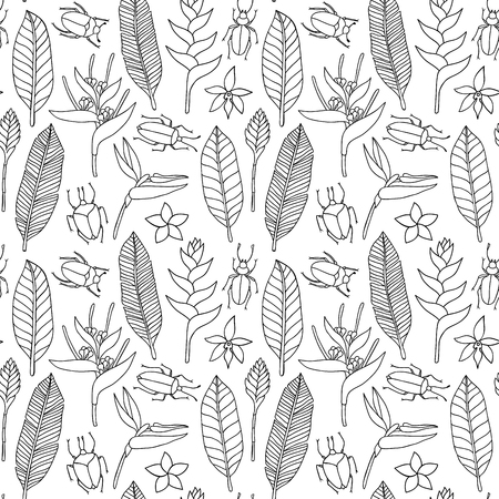 tropical: Seamless tropical pattern