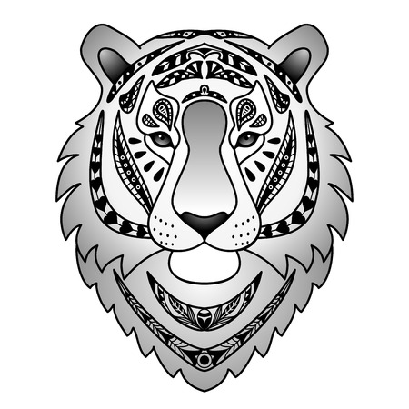 black tiger: Ornamental Black Tiger