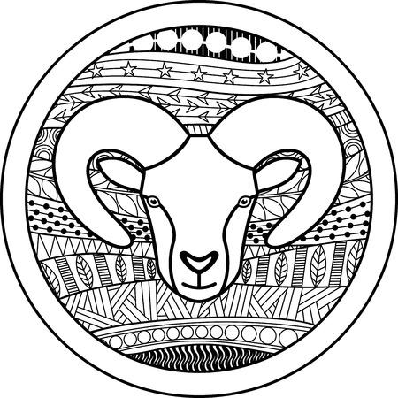 aries: La muestra del zodiaco del aries