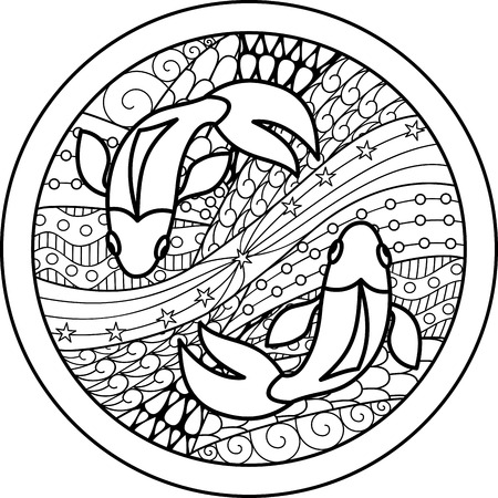 zodiac: Zodiac sign Pisces