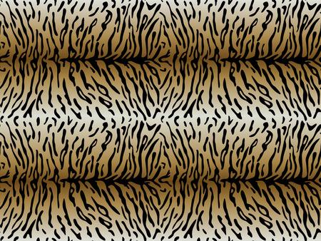 tigresa: Patr�n transparente de piel de tigre con tiras asim�tricas. ilustraci�n vectorial Vectores