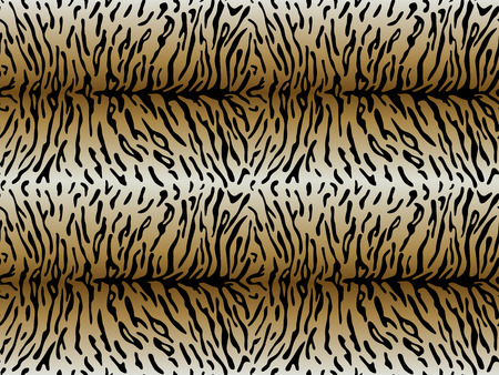 tigress: Seamless pattern of Tiger skin with asymmetric strips. Vector illustration