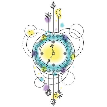 Abstract Clock Symbol
