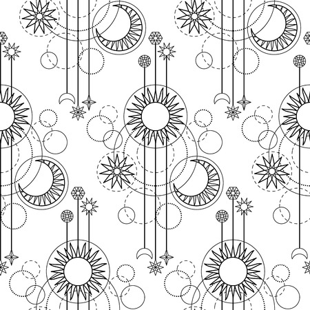modern: Astrology Modern Pattern