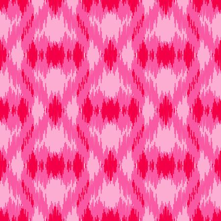Pink ethnic seamless pattern
