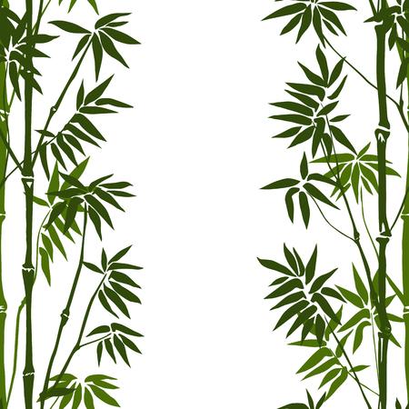 Bamboe Naadloos Verticaal Patroon