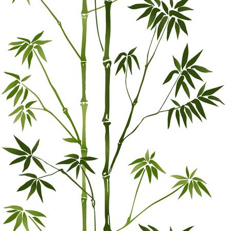 Bamboo Seamless Pattern Stok Fotoğraf - 75831225