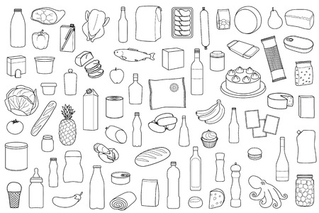 Food Product Set
