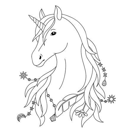Símbolo Del Unicornio Ilustraciones Vectoriales, Clip Art ...