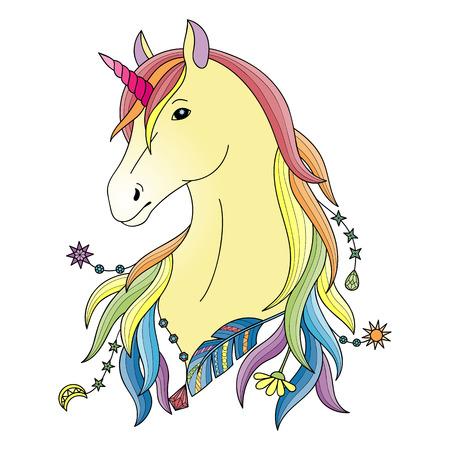 Unicorn symbol.