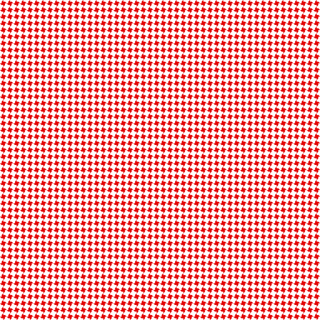 Geometric arabian seamless pattern. Traditional vector red and white textile print.