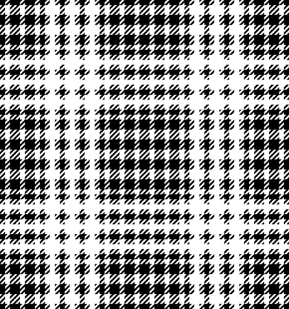 Check fashion tweed white and black seamless pattern for fashion textile prints, wallpaper, wrapping, fabric imitation and backgrounds. Reklamní fotografie - 99465966