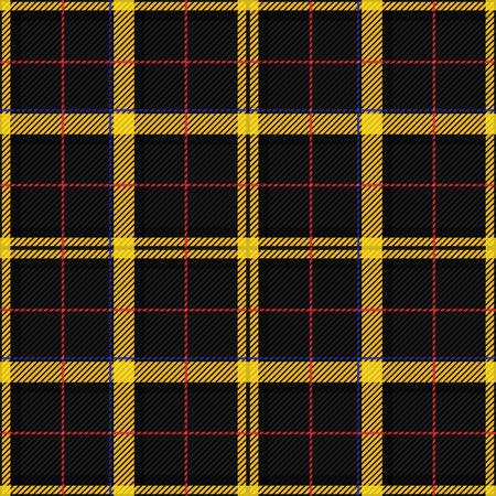 Scottish Tartan Checkered Seamless Pattern. Vector Repeat Background Illustration