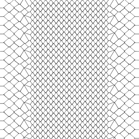 Snake skin black and white seamless pattern. Animal outline repeat wallpaper for textile prints, backgrounds, wrapping. Stock Illustratie