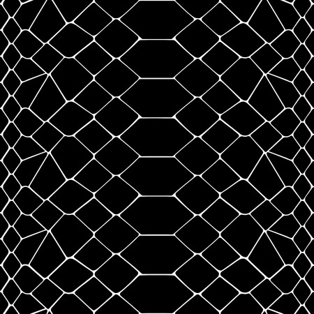 Snake skin black and white seamless pattern. Animal outline repeat wallpaper for textile prints, backgrounds, wrapping.