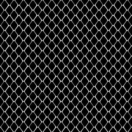 Modello senza cuciture bianco e nero di pelle di serpente. Carta da parati ripetuta con contorno animale per stampe tessili, sfondi, confezioni. Vettoriali