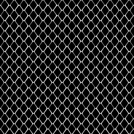 Snake skin black and white seamless pattern. Animal outline repeat wallpaper for textile prints, backgrounds, wrapping. Ilustracja