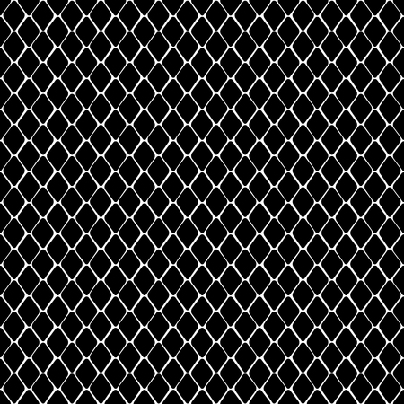 Snake Skin Black and White Seamless Pattern