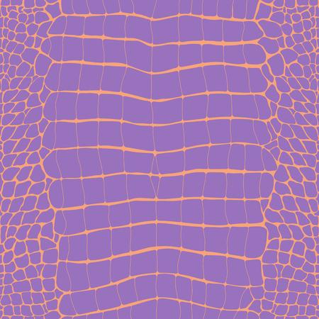 Crocodile Skin Pink and Lilac Replile Seamless Pattern, Animal Print