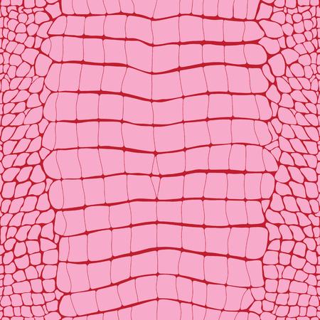 Crocodile Skin Pink Replile Seamless Pattern, Animal Print Banque d'images