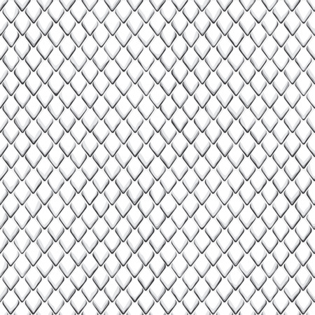 Snake skin black and white seamless pattern. Animal repeat wallpaper for textile prints, backgrounds, wrapping.